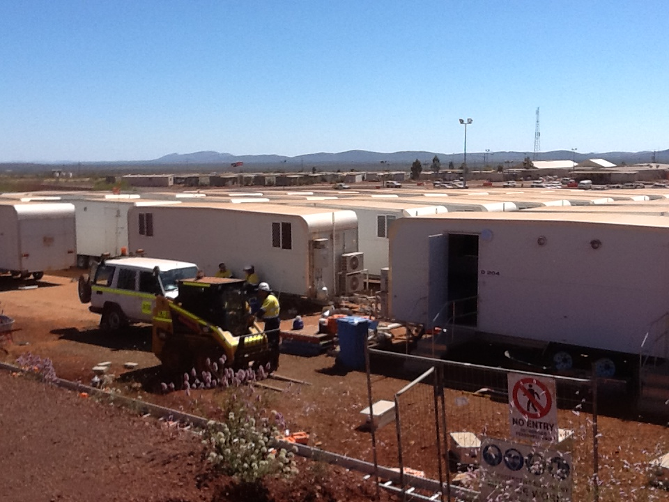 Mining Camp Workforce camp expansion near Tom Price WA