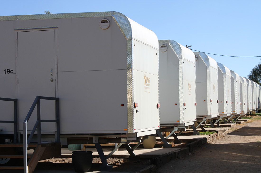 60 room temp. camp & 70 room accommodation village, Mount Isa Qld